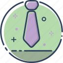 boss, business, job, office, professional, tie, tie icon icon