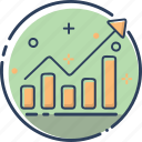 business, chart, finance, marketing, money, sales, sales icon icon