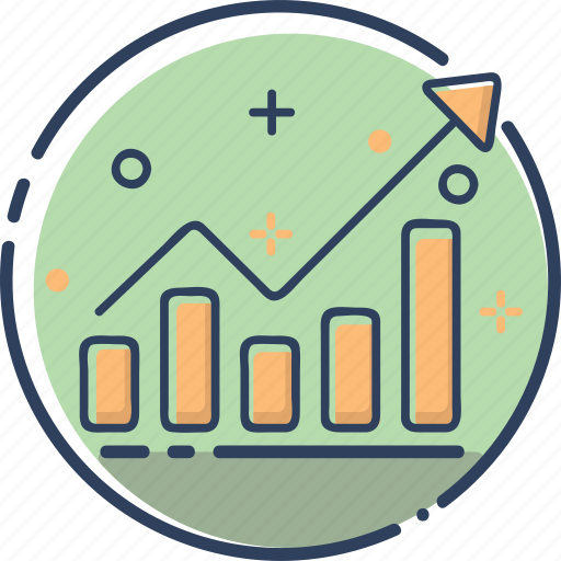 business, chart, finance, marketing, money, sales, sales icon icon