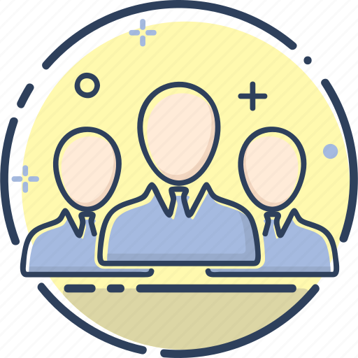 business, group, line filled, marketing, people, team, team icon icon