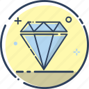 crystal, diamond, diamond icon, gem, jewel, jewelry, wealth