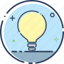 bulb, idea, idea icon, lamp, light, marketing, smart icon