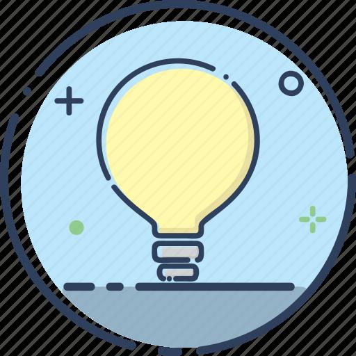 bulb, idea, idea icon, lamp, light, marketing, smart icon
