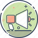 business, finance, marketing, marketing icon, megaphone, seo, social media icon