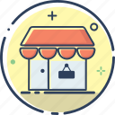 business, ecommerce, line filled, marketing, shop, shop icon, shopping icon