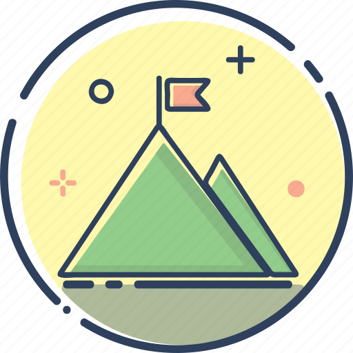 business, finish, line filled, money, mountain, succes icon, success icon