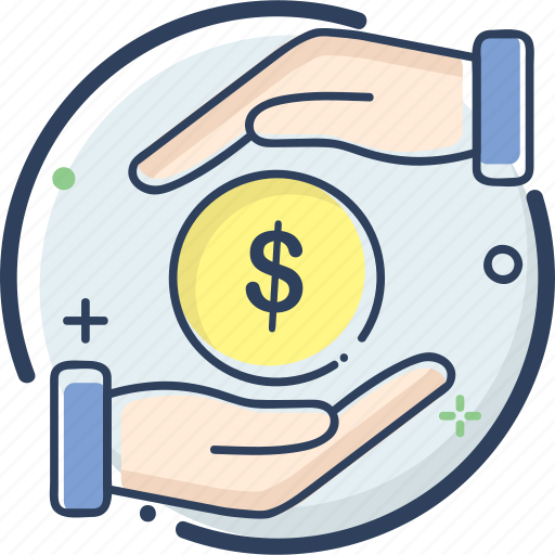 business, fee, fee icon, finance, money, payment, profit icon