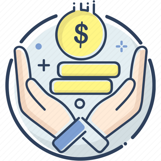 business, earning, fee, fee icon, line filled, money, receive icon