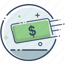 business, cash, fee, finance, money, money icon, sallary icon