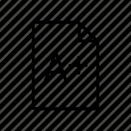 ephemeris, imprint, large, natural satellite, notebook, page, print icon