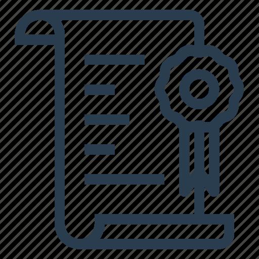 badge, design, file, label, office, prize, resume icon