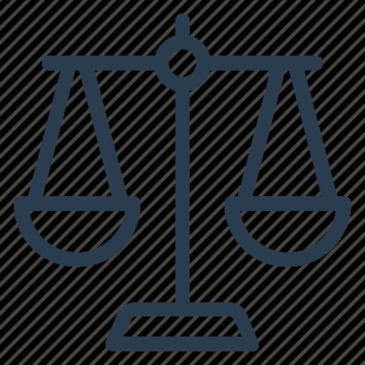 justice, law, legal, order, principle, prison, rule icon