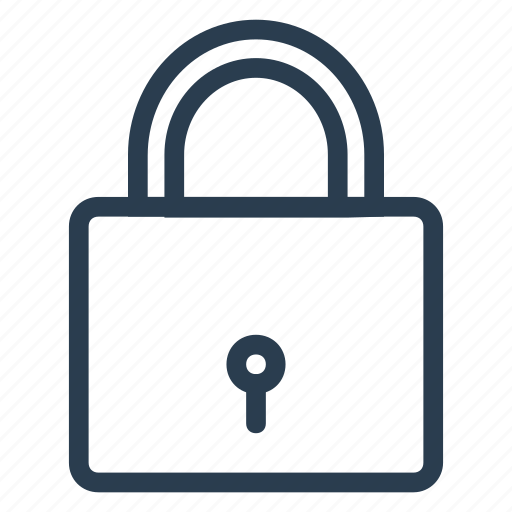 lock, password, privacy, protect, protection, secure, trust icon