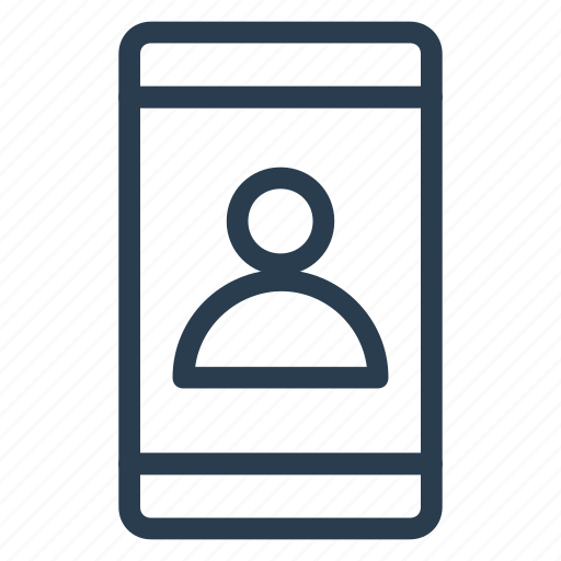 business, call, calling, iphone, mobile, phone, user icon