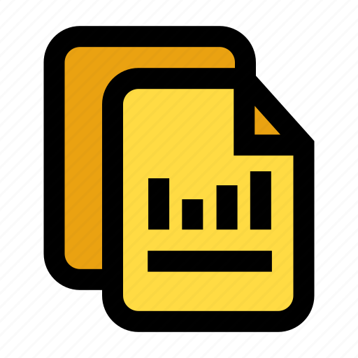 balance sheet, documents, ledger, record, report icon