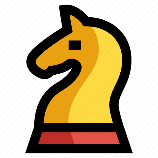 chess, horse, knight, palnning, strategy icon