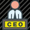 ceo, executive, boss