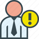 business, interrogant, man icon