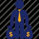 bag, business, money, profit, profitability