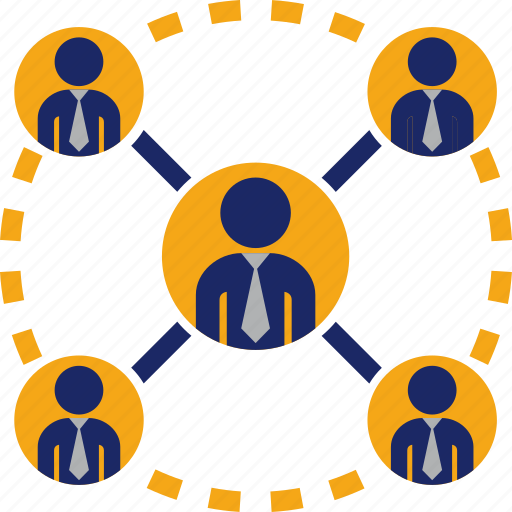 connection, group, marketing, network, networking, people, working icon