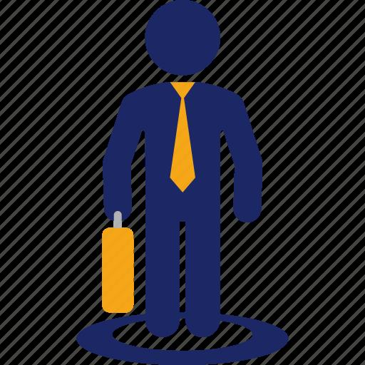 business, executive, job, man, selection icon