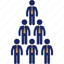 business, chart, men, organization, pyramid, structure