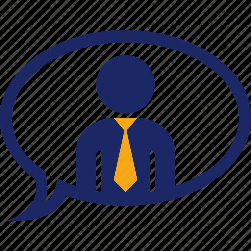 ballon, chat, communication, conversation, executive, text icon