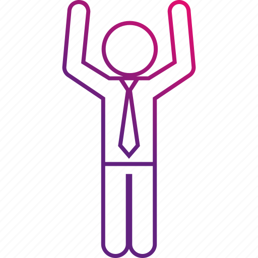 hands, happy, joyful, success, surrender, up icon