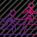 business, career, finish, goal, line, race, runners