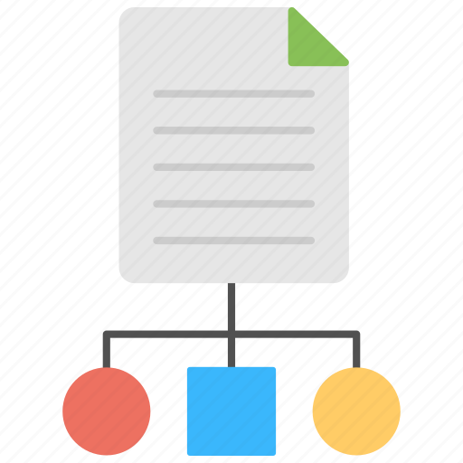 business management, business planning, business strategy, drafting, hierarchical structure icon