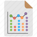 business analytics, business graph, graph up, graphic presentation, statistics icon
