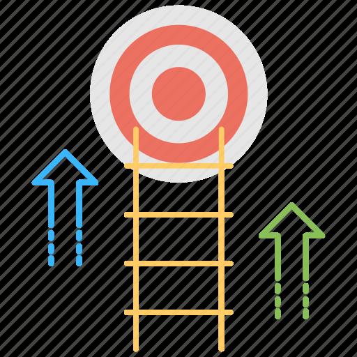 Goal Achievement Opportunity Management Set Goals Success Target Achieved Icon