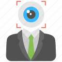 business target, focus, goal achievement, monitoring, vision icon
