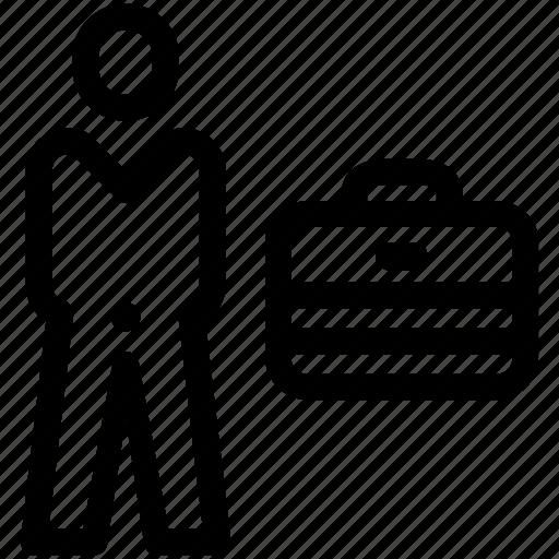 Briefcase, business, businessman icon - Download on Iconfinder
