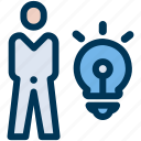 business, idea, plan icon