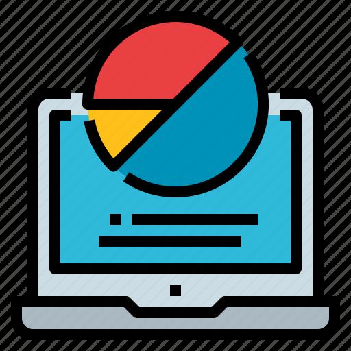 business, chart, diagram, graph, pie icon