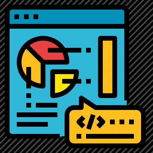business, coding, development, web icon