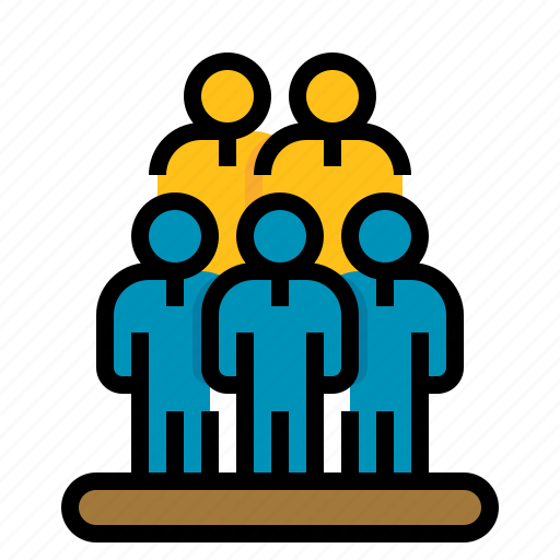 business, human, people, resources, team icon