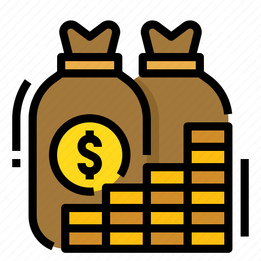 income, money, profit, revenue icon