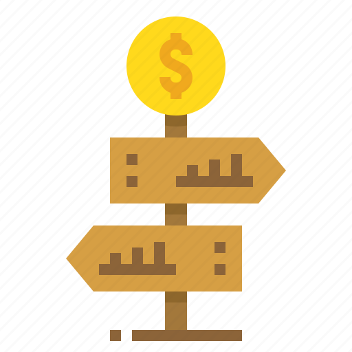 business, choose, direction, navigation icon