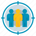 focus, group, marketing, target