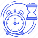efficiency, performance, time management, time planning, time schedule icon