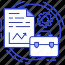 business management, business planning, program management, project management, project plan icon