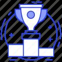 achievement, awrad, success, triumph, trophy, victory icon