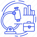 analytics, market analysis, market research, market trends, statistical research icon