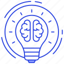 brainstorming, creativity, idea, innovation, intelligence, invention icon