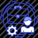 business management, business plan, business planning, program management, project management icon