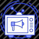 advertisement, announcement, marketing, publicity, social ads icon