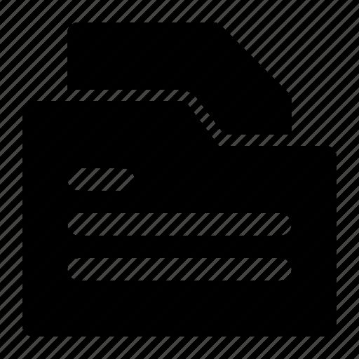 Business, document, folder, management icon - Download on Iconfinder