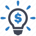 business, idea, solution icon